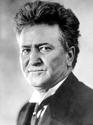 United States presidential election in Utah, 1924 - Image: Robert M La Follette, Sr