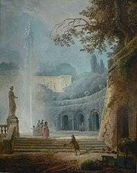 Гюбер Робер: The Fountain