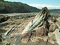 Rock formation on West Street Beach - geograph.org.uk - 2372661.jpg
