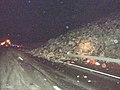 Rocks fall onto I-84 near Rufus (5244102005).jpg