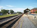 Rocky Mount Station; South View of CSX Train.JPG