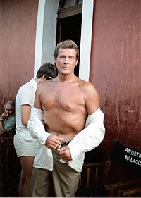 Roger Moore at the sets of Sea Wolves.jpg