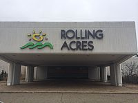 Rolling Acres Mall entrance, March 29th, 2014.JPG