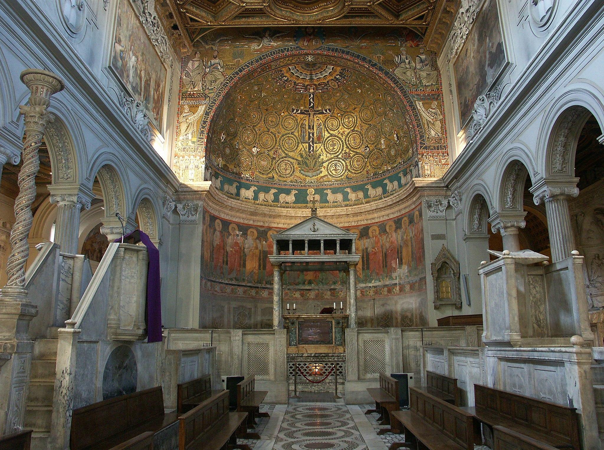 Rom, Basilika San Clemente, Innenraum 3