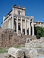 Roman Forum-Temple of Antoninus & Faustina.jpg