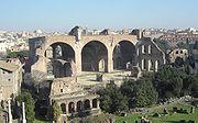 Rome, Forum Romanum, Basilica of Maxentius