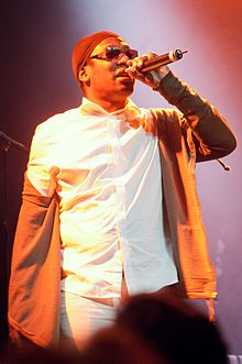 Description de l'image Roots Manuva Anais photography Auckland concert-2.jpg.