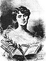 Rosalía Castro de Murguía. A mi amigo Manuel Castro López, José Bouchet 1897.jpg