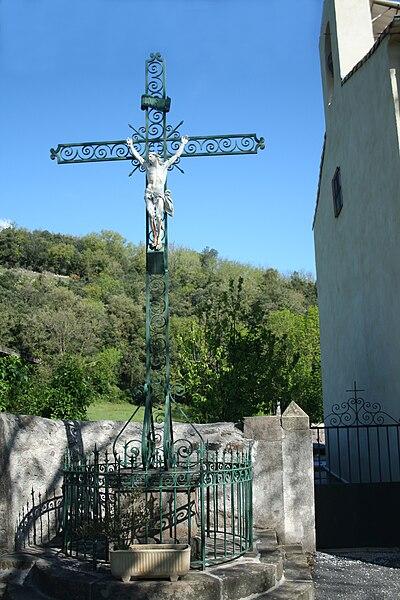 Rosis (Hérault)) - croix à Andabre.
