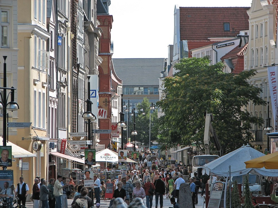 Rostock Kröpeliner Straße