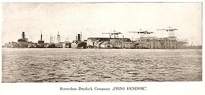 Rotterdamsche Droogdok Maatschappij - Rotterdam Drydock Company, 1918