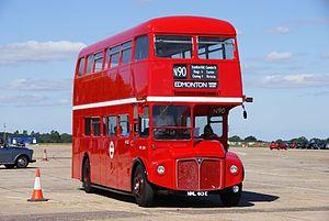 Routemaster RML2613 (NML 613E), 2010 North Weald bus rally.jpg