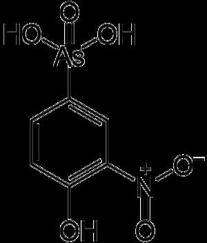 Organoarsenic chemistry - Image: Roxarsone