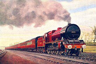 Royal Scot (train) - Image: Royal Scot, 6137 Vesta (CJ Allen, Steel Highway, 1928)