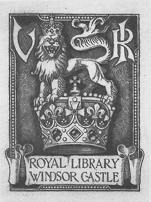 George Eve - Image: Royal bookplate for Queen Victoria by G W Eve