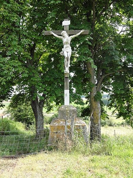 Rozelieures (M-et-M) croix de chemin