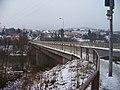 Roztoky u Křivoklátu, pohled přes most k centru.jpg