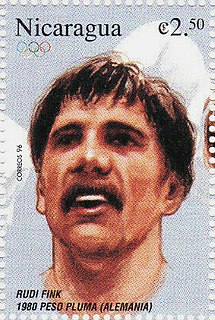 Rudi Fink East German boxer
