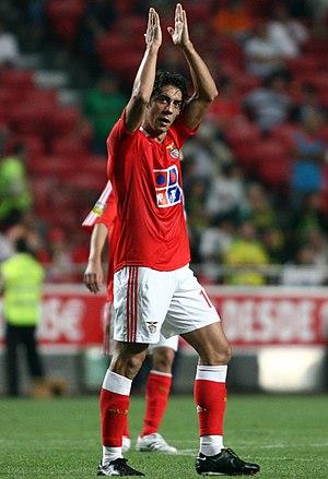 Rui Costa - Rui Costa with Benfica in 2007