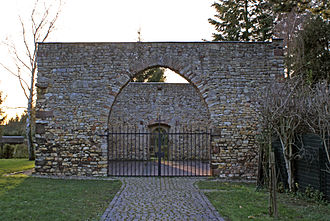 "Walluf - Ruins of the Johanniskirche (""Saint John's Church) in Niederwalluf"