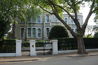 13 Kensington Palace Gardens Former London townhouse of the Earls of Harrington