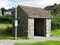 Rustic bus shelter - geograph.org.uk - 1438647.jpg
