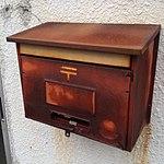 Rusty old mailbox - Tokyo area - Japan - Nov 2017.jpg