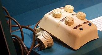 Remote control - SABA corded TV remote