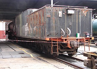 South African type EW1 tender - Image: SAR Class 25NC 3440 (4 8 4) 2