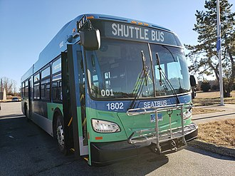 Southeast Area Transit - Image: SEAT's 2017 New Flyer Xcelsior 35'FT Vehicle 1802