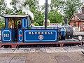 "SECR ""P"" Class no. 323 ""Bluebell"" running around its train at Sheffield Park (9129034311).jpg"