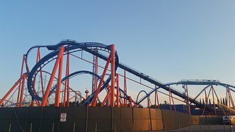 Scream (roller coaster) - Image: SFMM Scream