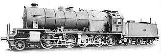 L&YR 2-10-0 (Hughes) - Flamme Type 36 2-10-0