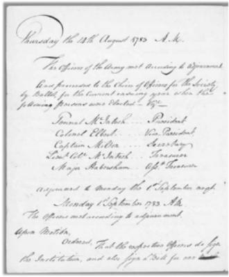 John Milton (Georgia politician) - John Milton, the first Secretary of State of Georgia, elected three times; major of Augusta; Revolutionary War hero; was, also, the First Secretary of the Georgia Society of the Cincinnati