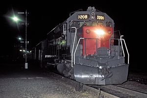 SP 3208 with The Cascade Lv Oakland Apr1971xRP - Flickr - drewj1946.jpg