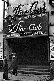 Star-Club Music club on Große Freiheit street in Hamburgs St. Pauli district, West Germany