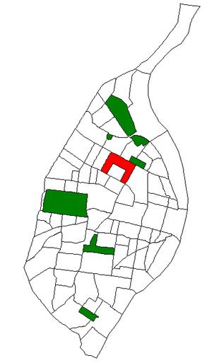 Greater Ville, St. Louis - Image: STL Neighborhood Map 56