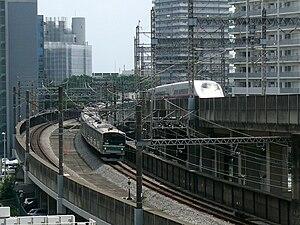 Saikyō Line - Saikyo Line and Tohoku Shinkansen