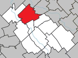 Saint-Isidore, Chaudière-Appalaches, Quebec - Image: Saint Isidore (Chaudière Appalaches) Quebec location diagram