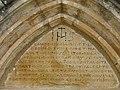 Saint-Léon-sur-Vézère cimetière chapelle portail tympan.jpg