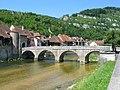 Saint-Ursanne, Doubs bridge.jpg