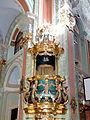 Saint Anne church in Lubartów - Pulpit - 03.jpg