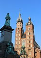 Saint Mary Basilica in Kraków 2015-08 --1.jpg