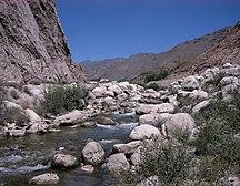 Parvan (provins)--Salang road creek