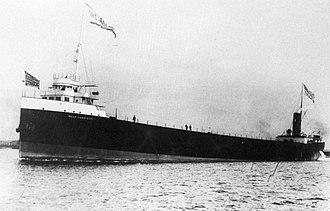 SS Chester A. Congdon - Image: Salt Lake City underway