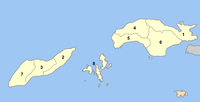 Samos municipalities numbered.png