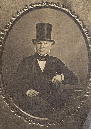 Samuel Jarvis - Samuel Peters Jarvis, 1850s Portrait