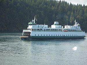 MV Illahee - Image: San Juans ferry
