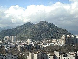 Cerro San Cristóbal Santiago De Chile Wikipedia