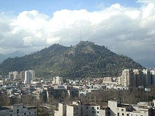 Santiago Metropolitan Park Urban park in Santiago, Chile